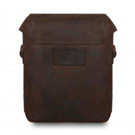 Кожаная мужская сумка через плечо Ashwood Leather  Miro Brown
