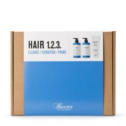 Baxter of California Hair 123 Kit - Подарочный набор для ухода за волосами