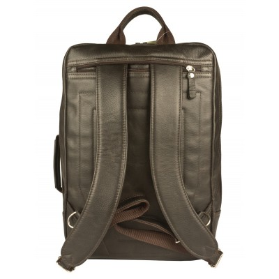 Мужской рюкзак из натуральной кожи Carlo Gattini Vivaro brown (арт. 3075-04)