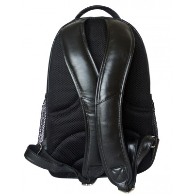 Мужской рюкзак из натуральной кожи Carlo Gattini Rivarolo black (арт. 3071-01)