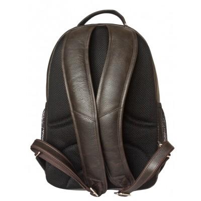 Мужской рюкзак из натуральной кожи Carlo Gattini Rivarolo brown (арт. 3071-04)