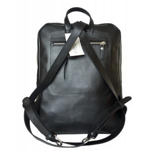 Мужской рюкзак из натуральной кожи Carlo Gattini Lanciano black (арт. 3066-01)