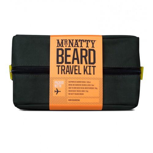 Mr.Natty Wash Kit Beard - Дорожный набор для ухода за бородой
