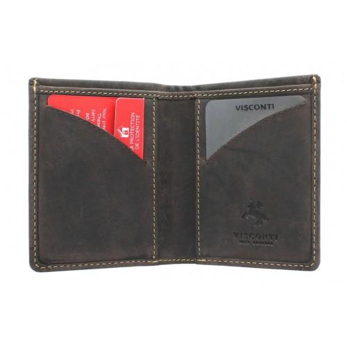 Бумажник Visconti VSL21 Oil Brown