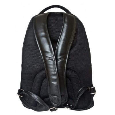 Мужской рюкзак из натуральной кожи Carlo Gattini Coltaro black (арт. 3070-01)