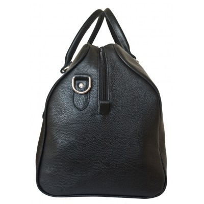 Кожаная дорожная сумка Carlo Gattini Campelli black (арт. 4014-01)