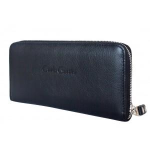 Кожаный кошелек Carlo Gattini Artena black (арт. 7701-01)