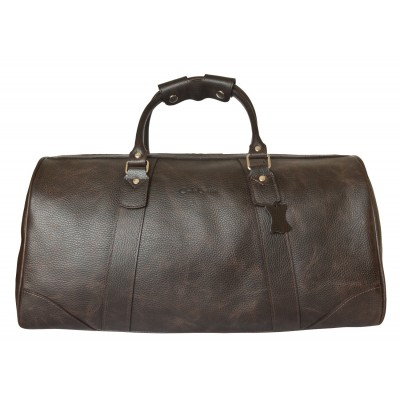 Кожаная дорожная сумка Carlo Gattini Gallinaro brown (арт. 4026-04)