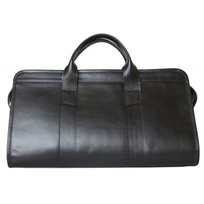 Кожаный саквояж Carlo Gattini Veirera black (арт. 4016-01)
