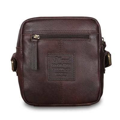 Мужская сумка через плечо Ashwood Leather  1332 Brown