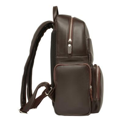Мужской рюкзак из натуральной кожи Lakestone Seddon Brown