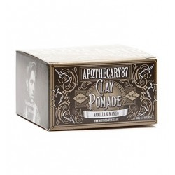 Apothecary87 Vanilla & Mango Clay Pomade - Глина для укладки волос 100 мл