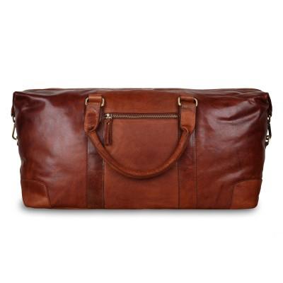 Дорожная сумка Ashwood Leather G-36 Tan