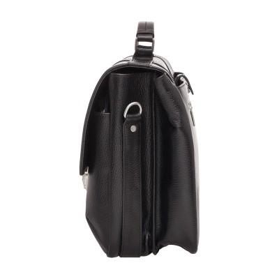 Мужской портфель из натуральной кожи Lakestone Emerson Black