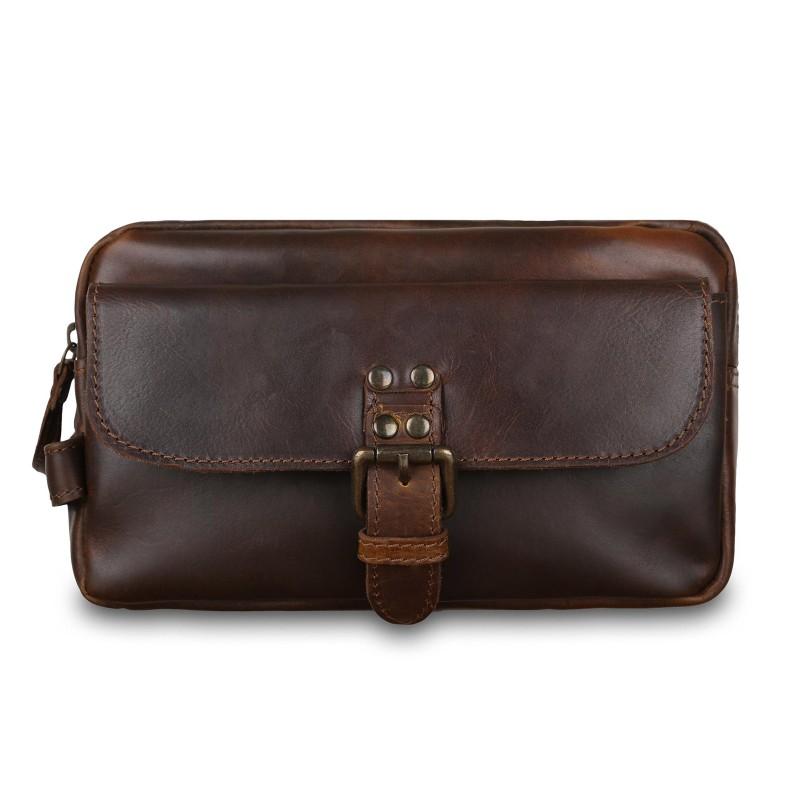 Несессер Ashwood Leather Hugh Copper Brown