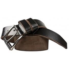 Кожаный мужской ремень Carlo Gattini Comano black (арт. 9033-01)