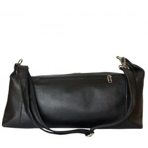Дорожная сумка из кожи Carlo Gattini Costola black (арт. 4024-01)