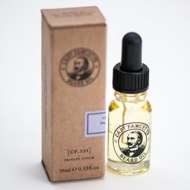 Captain Fawcett Beard Oil Private Stock Travel Sized - Масло для бороды 10 мл