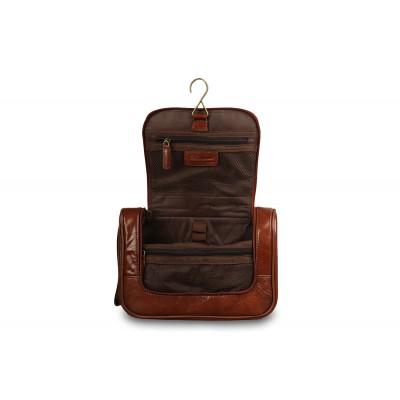 Несессер Ashwood Leather 89145 Chestnut Brown