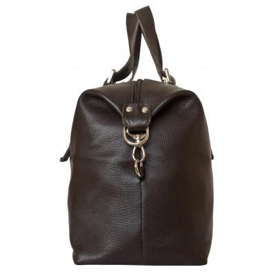Кожаная дорожная сумка Carlo Gattini Ardenno brown (арт. 4013-04)
