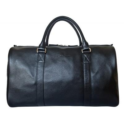 Кожаная дорожная сумка Carlo Gattini Noffo black (арт. 4018-01)
