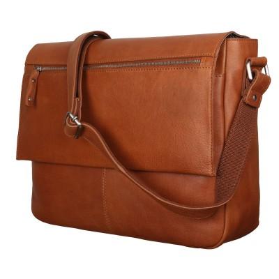 Мужская сумка через плечо Ashwood Leather Baker Tan