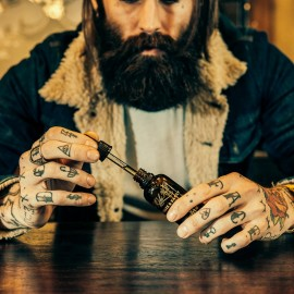 Captain Fawcett Ricki Halls Booze & Baccy Beard Oil - Масло для бороды 10 мл