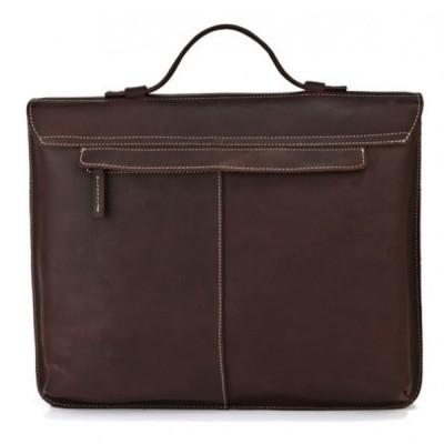 Мужской портфель из натуральной кожи ANCON BRUFOLI