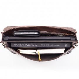 Кожаный портфель мужской JILIO