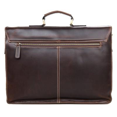 Мужской портфель из натуральной кожи GAJIN
