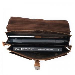 Мужской портфель из натуральной кожи LEONARD