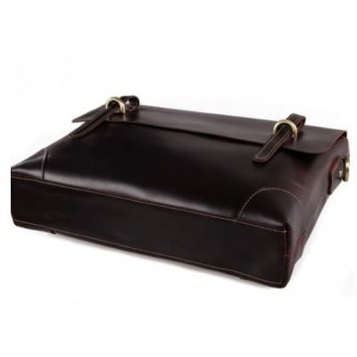 Мужской портфель из натуральной кожи RELLO CAFFE