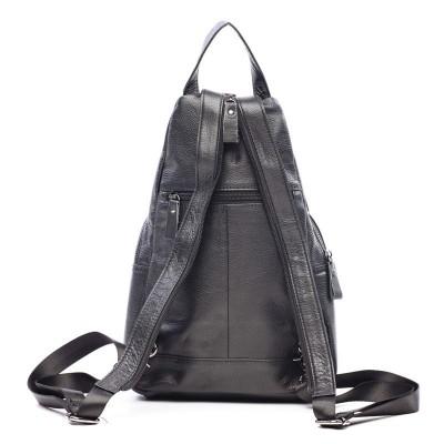 Кожаный рюкзак мужской DAIV NERO