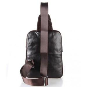 Кожаная мужская сумка через плечо BARIL