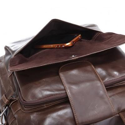 Мужская сумка-трансформер из кожи POCO