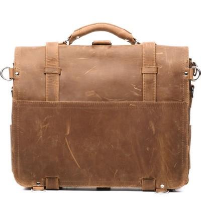 Мужская сумка-трансформер из кожи THOMAS LATTE