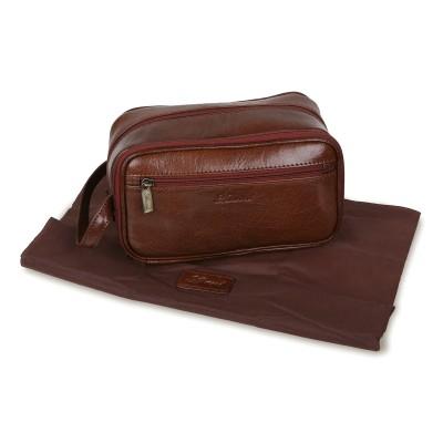 Несессер Ashwood Leather 2080 Chestnut Brown