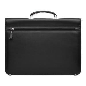 Кожаный портфель для документов Ballion Black