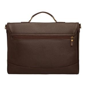 Кожаный портфель мужской Dorman Brown