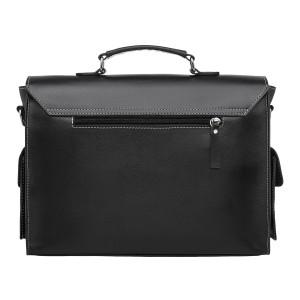 Кожаный портфель мужской Neal Black