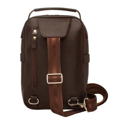 Мужской рюкзак из натуральной кожи Calton Brown