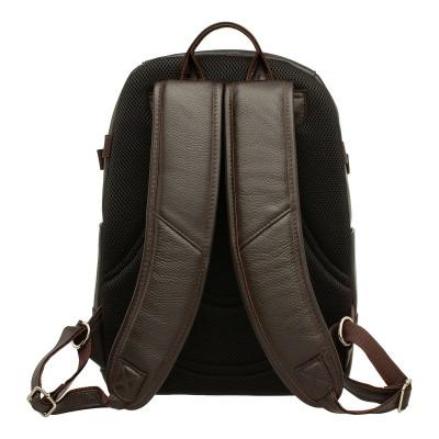 Кожаный рюкзак мужской Carlos Brown