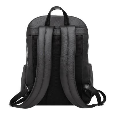 Мужской рюкзак из натуральной кожи Dantrey Black