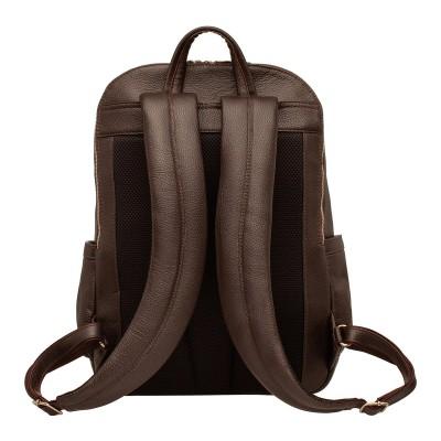 Кожаный рюкзак мужской Dantrey Brown
