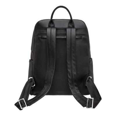 Мужской рюкзак из натуральной кожи Divis Black