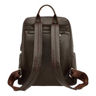Кожаный рюкзак мужской Divis Brown