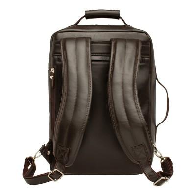 Кожаный рюкзак мужской Fairway Brown