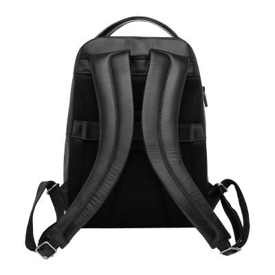 Мужской рюкзак из натуральной кожи Gallon Black