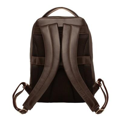 Кожаный рюкзак мужской Gallon Brown