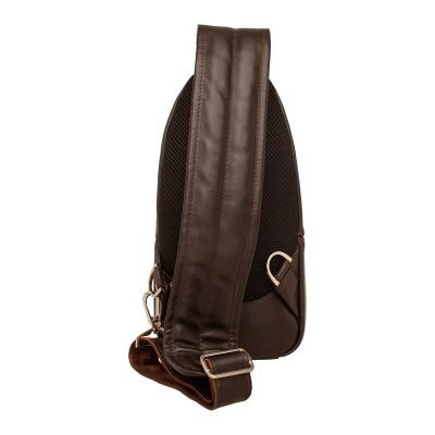 Кожаный рюкзак мужской Jews Brown